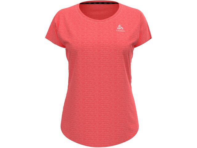 Odlo Run Easy Linencool T-Shirt S/S Crew Neck Women, rood